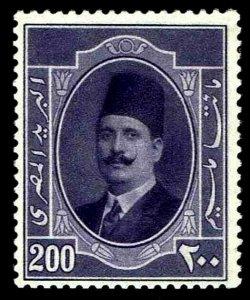 1915 Egypt #102 King Fuad Wmk 120 - OGXLH - VF - CV$45.00 (ESP#3241)