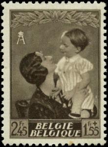 Belgium Scott #B196 Mint
