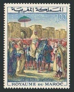Morocco 101,MNH.Michel 530. Coronation of King Hassan II-3,1964.By Delacroix.