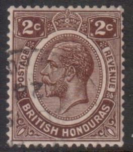 Br Honduras Scott 93 - SG127, 1922 George V 2c used