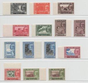 Malaya Kedah - 1959 - SG 104-14 - MNH #9