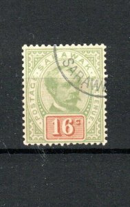 Sarawak 1897 16c Sir Charles Brooke FU CDS