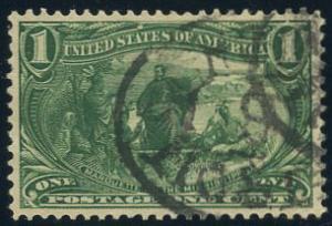 US Scott #285 Used, XF