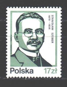 Poland. 1983. 2858 from the series. Szober, linguist. MNH.