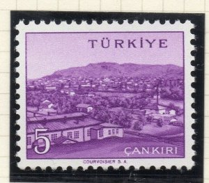 Turkey 1958-60 Early Issue Fine Mint Hinged 5p. NW-17517