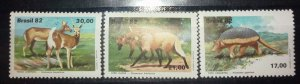Brazil 2082  fauna wild animals set MNH