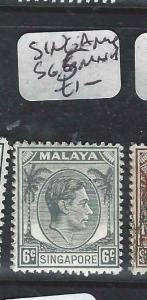 SINGAPORE   (P0906B)  KGVI  6C  SG 5   MNH