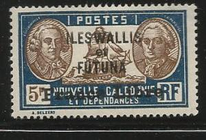 WALLIS & FUTUNA 124 MINT HINGED FRANCE LIBRE O/PRINT