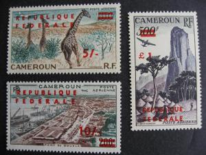 Cameroon Sc C35-40 MH nice stamps check them out!
