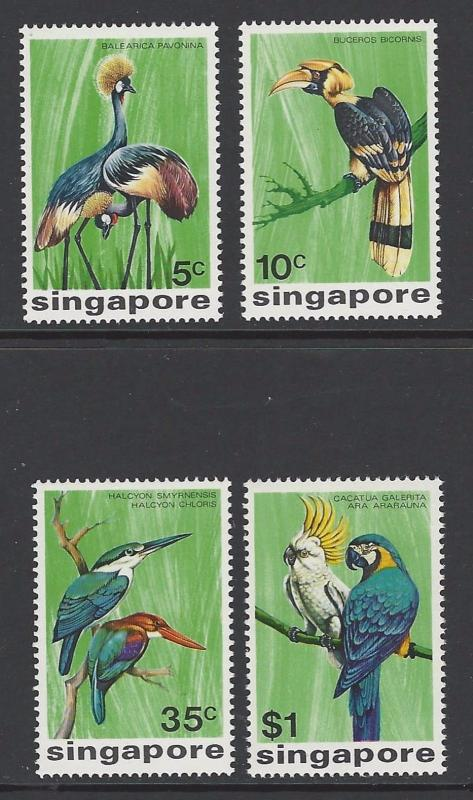 Singapore 1975 Birds VF MNH (236-9)