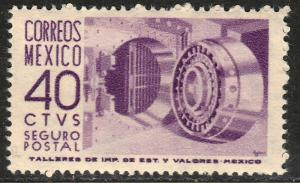 MEXICO G11, 40cents 1950 Definitive 1st Printing wmk 279 MINT, NH. F-VF.