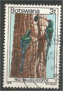 BOTSWANA, 1978, used 3t, Birds. Scott 200