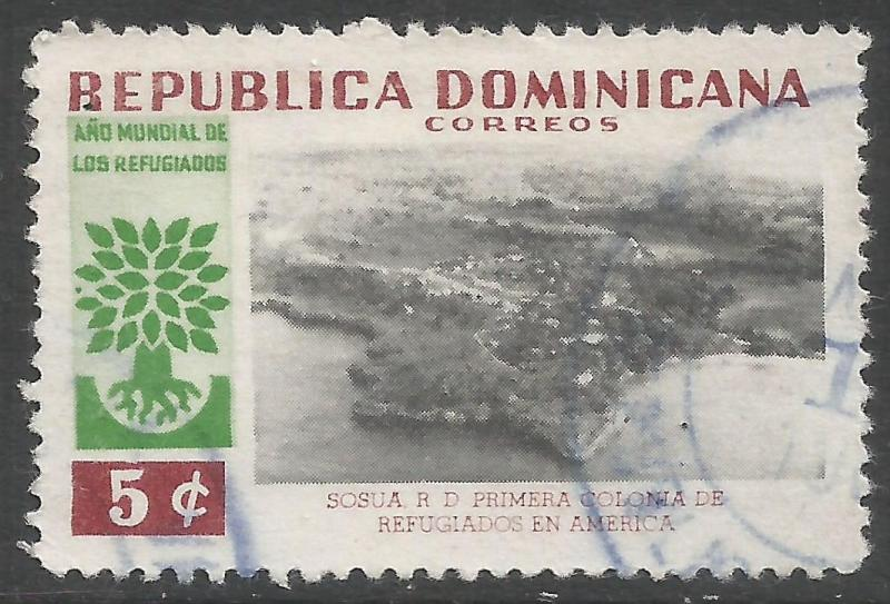 DOMINICAN REPUBLIC 522 VFU Q152-1