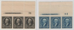 #276 - #276A - #277 Top Impt & PL # Strips Never Hinged - SEE DETAILS  (GP2)