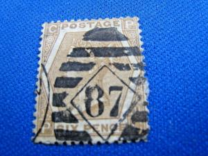 GREAT BRITAIN  -  SCOTT #59  -  Used      (brig)