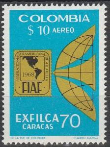 Colombia #C532  MNH F-VF CV $5.00 (V347)