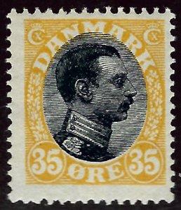 Denmark #115 Mint Fine...Grab a Deal!