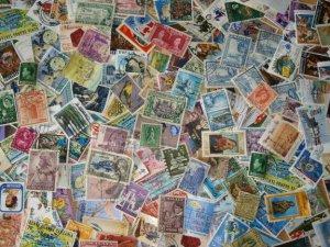 1000 British Commonwealth Stamps ~ Kiloware Mixture
