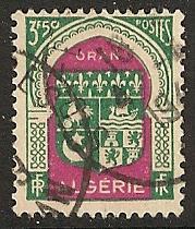 Algeria  used scott cat #  218