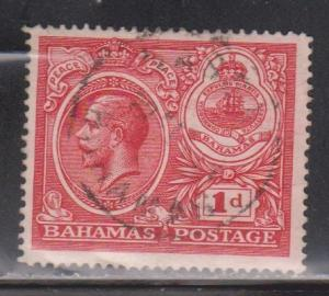 BAHAMAS Scott # 66 Used - KGV