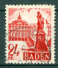 Germany - French Occupation - Baden - Scott 5N8