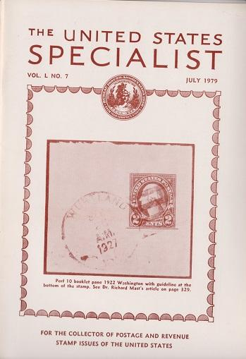 The United States Specialist:  Volume 50, No. 7 - July 1979