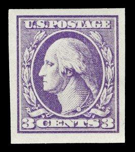 Scott 535 1920 3c Washington Offset Mint VF Disturbed OG HR Cat $10