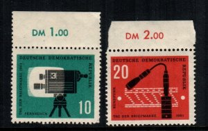 Germany DDR  574 - 575  MNH cat $ 1.65
