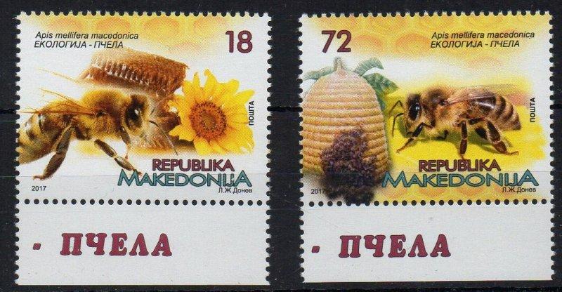 MACEDONIA - 2017 - BEEKEEPING - APICULTURE - BEES - HONEY -