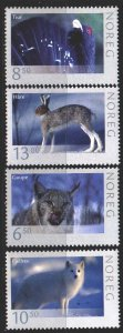 Norway. 2006. 1573-77 from the series. Fauna of Norway. MNH.