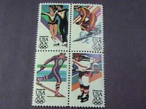 U.S.# 2067-2070(2070a)-MINT/NH-- BLOCK OF 4--1984 OLYMPICS--1984