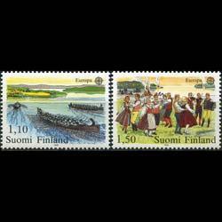 FINLAND 1981 - Scott# 655-6 Europa Set of 2 NH