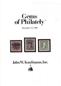 Gems of Philately, Kaufmann Gems 861