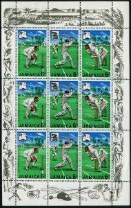 Jamaica 266-268a sheet,MNH.Michel 268-170 klb. Marylebone Cricket Club,1968.