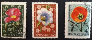 Flowers, Russia and the Soviet Union, 1974, №65-Т.
