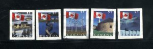 Canada #2135-39  -1 used VF 2005 PD