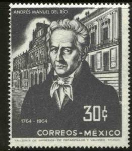 MEXICO 961 200th Anniv birth of Andres M del Rio-Mining School MINT, NH. VF.