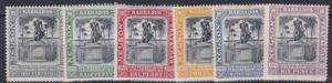 BARBADOS  1906   S G   145 - 150  VARIOUS VALUES TO 6D  MH  CAT £68