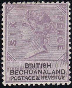 Bechuanaland 1887 SC 15 MLH