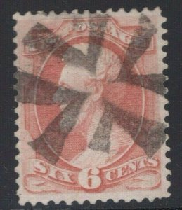 #159 Used Bold NYFM Cancel Centrally Struck - Small Faults (JH 4/21)