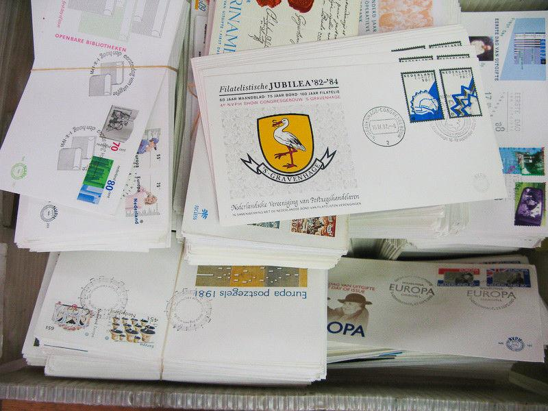 Netherlands Covers Cachet FDC Unaddressed 3,000