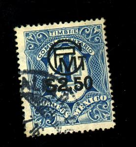 Mexico #605 Used F-VF Cat $250