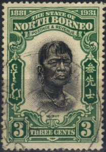 Malaya (North Borneo) 1931 SG295 Used