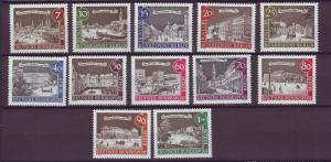 J20707 Jlstamps 1962-3 berlin germany set mnh #9n196-207 old berlin
