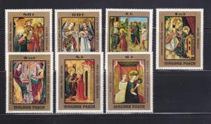Hungary 2250-2256 Set MH Art, Paintings