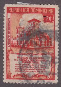 Dominican Republic 414 Municipal Building, San Cristóbal 1945