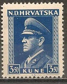 Croatia #68a Mint Never Hinged F-VF CV $4.00 (ST495)