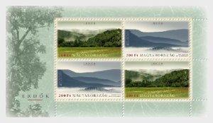 2011 Hungary Forests - Europa MS4  (Scott 4207) MNH