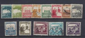 Palestine, 63//81 (13v), Various Designs Singles,**Used**