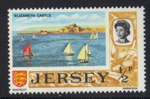 Jersey  1970  MNH  defenitives decimal currency  1/2 p   #